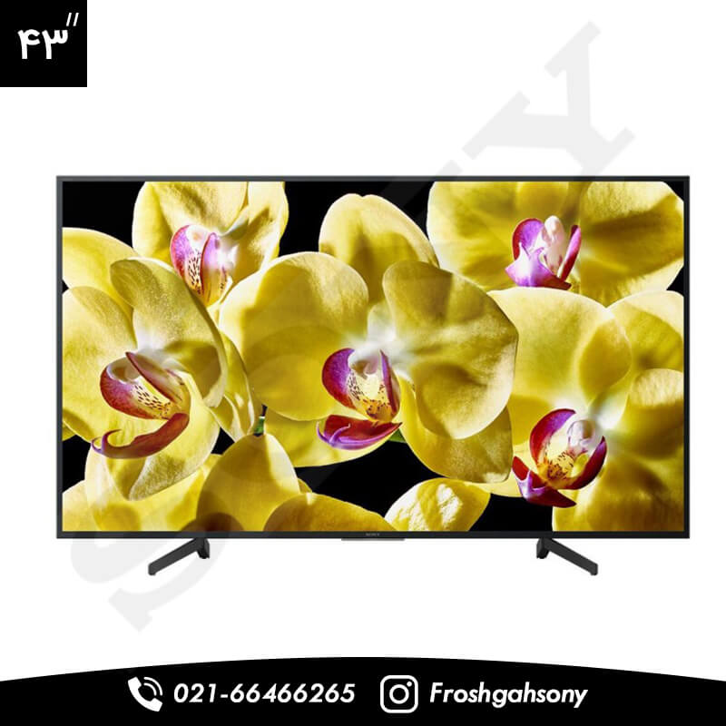 تلویزیون 43 اینچ Full HD سونی مدل X8000G