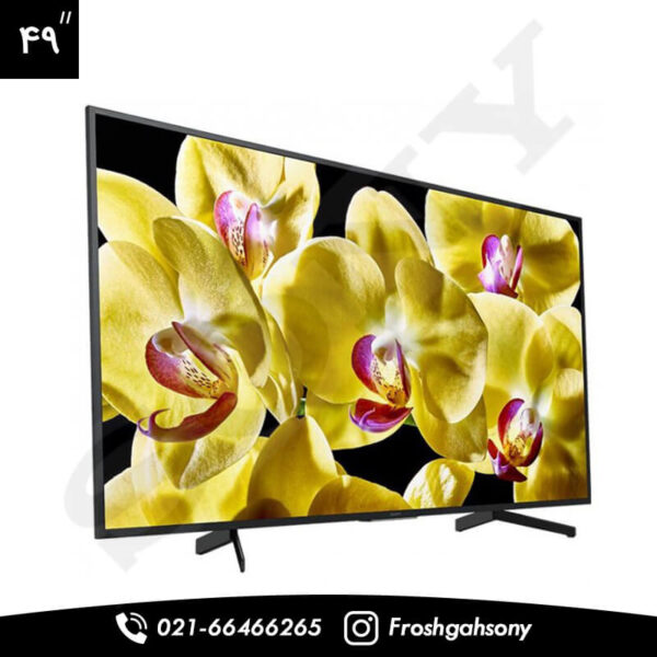 foroshgahesony.comتلویزیون 49 اینچ 4K سونی مدل X8000G