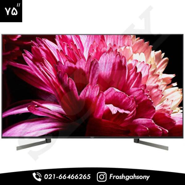 تلویزیون 75 اینچ ultra HD سونی مدل X9500G